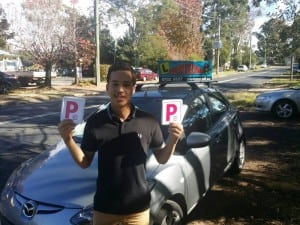 Driving school testimonial Springwood Blue Mountains