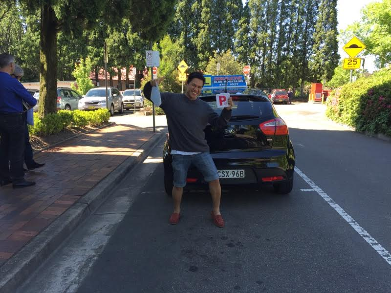 Driving school testimonial Katoomba