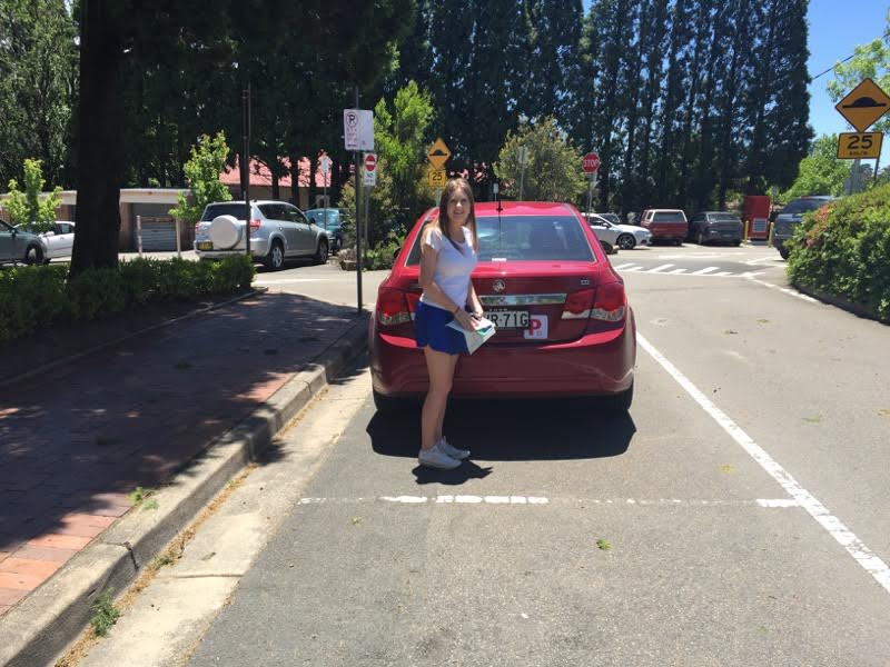 Driving school testimonial Wentworth Falls